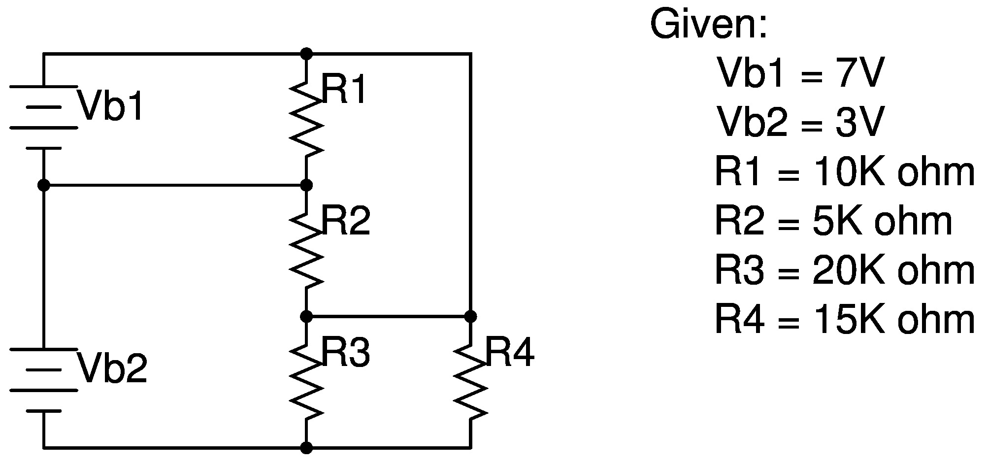 Voltage Divider Formula Series Circuit