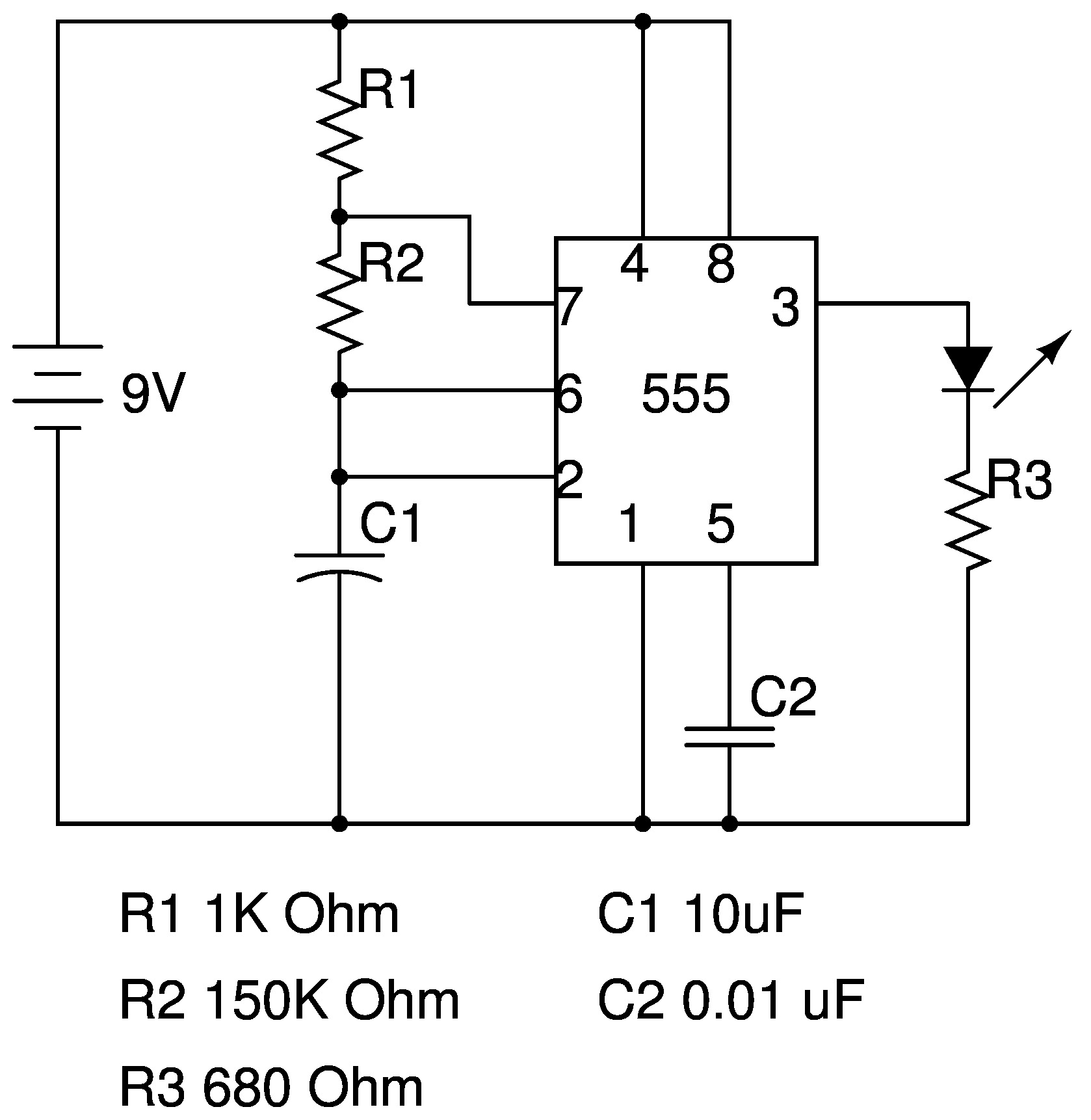 basic electronic building blocks